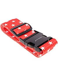 MagiDeal Luggage Strap Adjustable Suitcase Straps Travel Packing Luggage Tie Down Belt Travel Accessories #3