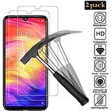 ANEWSIR 2X Vetro Pellicola Protettiva per Xiaomi Redmi Note 7 / Note 7 PRO Vetro Temperato Xiaomi Redmi Note 7/Note 7 PRO Screen Protector HD Alta Trasparenza Garanzia a Vita