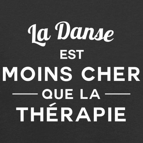La danse est moins cher que la thérapie - Femme T-Shirt - 14 couleur Noir
