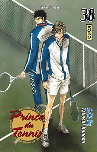 Prince du Tennis, Tome 38 : par Takeshi Konomi