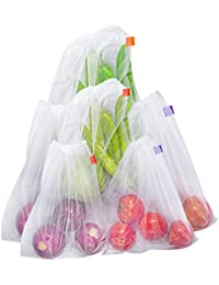 Bekith Reusable Produce Bag, Set Of 6