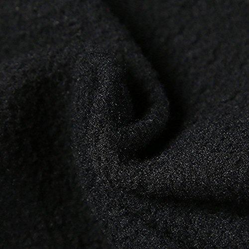 Damen Softshellhose Wasserdichte Wanderhose Trekkinghose Winter Outdoor Funktionshose Schwarz