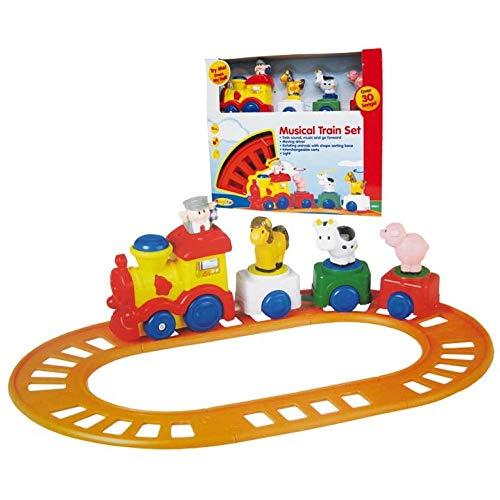 Tachan-Train Musical Animal Farm -CPA Toy Group 68001 - Version Espagnole