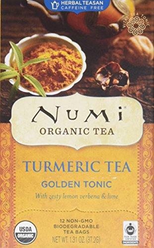 Numi Organic Tea Turmeric Tea - Golden Tonic - 12 Count
