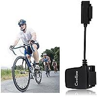 Sensor de Velocidad y Cadencia RPM, Inalámbrico / Bluetooth / ANT Bicicleta Impermeable Computadora Rastreador de Ejercicios Velocímetro Cable para iPhone y Android, Negro