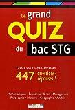 Le grand quiz du bac STG