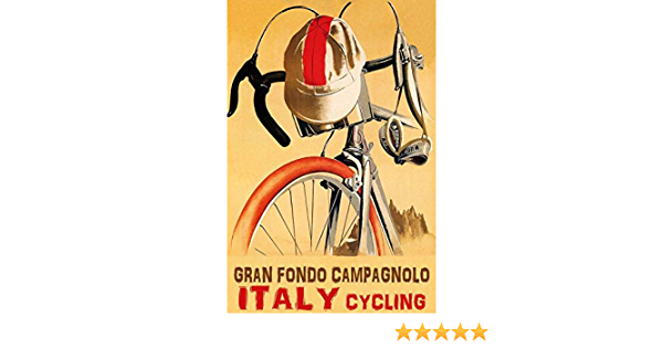 Wonderfulitems Bike Italien Gran Fondo Campagnolo Radfahren Wettbewerb Fahrrad Radfahren
