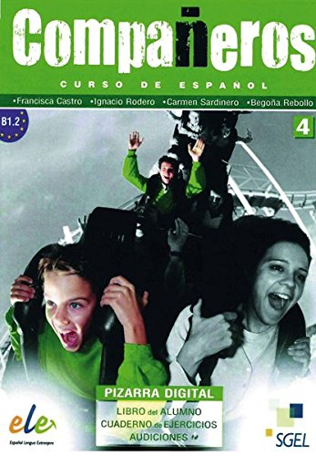 Compañeros 4: Curso de español / DVD-ROM mit Materialien für PC und Whiteboard