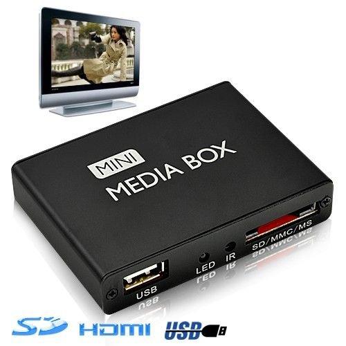 MINI PASSERELLE MULTIMEDIA HD HDMI USB SD 720P YONIS