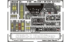 Eduard Accessories fe35930502000sb2C de 1Helldiver ewto para Revell/Accu Transferencia Miniatures Montar