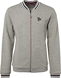 NO EXCESS Herren Sweater Jacke Pullover Pulli Full Zip Bomber Relief Sweat