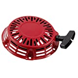 Sourcingmap, a12031200ux0370, A12031200UX0370 avviamento a strappo per i motori, ricambi, rosso
