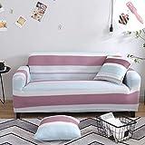 Universal Estiramiento Funda Sofá de 1 2 3 4 plazas, Morbuy Moda Nórdica de Impresión Sofá Cubre Furniture Protector Antideslizante Elastic Soft Sofa Couch Cover