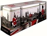 Ahmad Tea - Westminster Collection - 2x 25g Loser Tee & 14 Teebeutel - Geschenkdosen