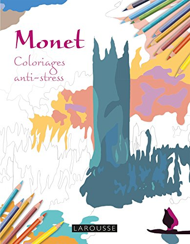 Monet Coloriages anti-stress par Collectif