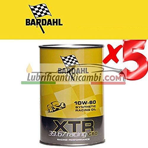 Olio Motore Auto-Bardahl XTR 39.67 Racing c60 10W-60 -formulato per Motori Racing o di Elevata Potenza - Offerta 5 Lit