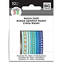 Me and My Big Ideas Kit washi tape Papel, Multicolor 3 mm x 6 m