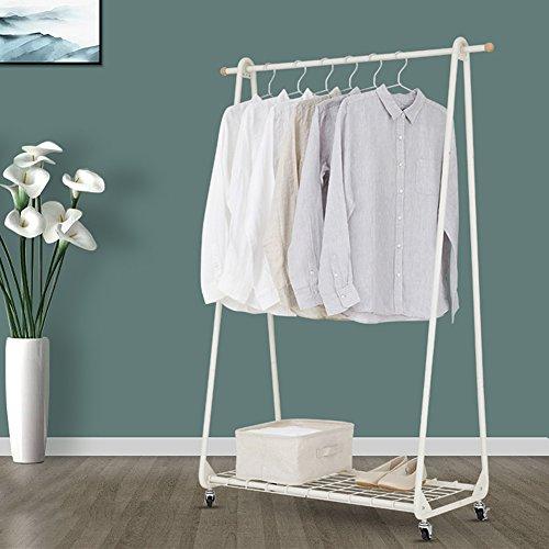 LXLA- Kann überall wandeln Kleiderregal Boden stehende Kleiderbügel einfache Kleiderständer...