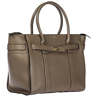 Mulberry women's leather shoulder bag original beige - hobos-shoulder-bags