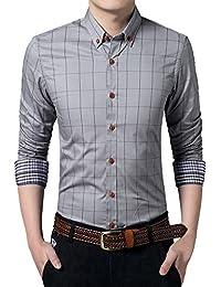 MEYKISS - Camisa Casual - para Hombre