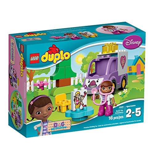 LEGO DUPLO Brand Disney 10605 Doc McStuffins Rosie the Ambulance Building Kit by LEGO