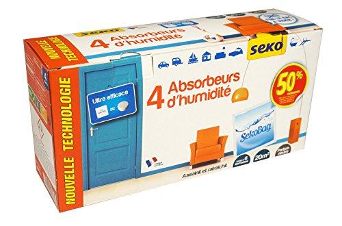 ry Luftfeuchtigkeit Absorber (4Stück)–Made in Frankreich (Sicher Feuchtigkeit Absorber)