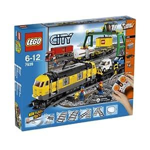 lego 7939 jeux de construction lego city le train. Black Bedroom Furniture Sets. Home Design Ideas