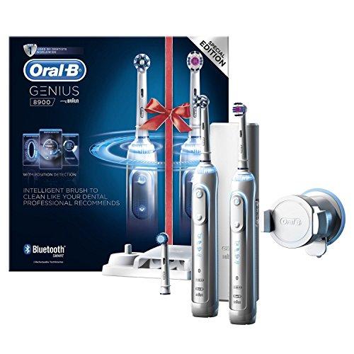 Oral-B Genius 8900 Cepillo de Dientes Eléctrico Con Tecnología de Braun 2Uds.
