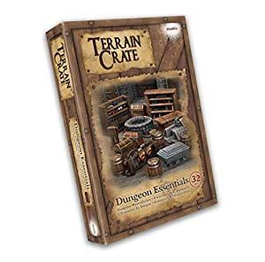 Mantic Games MGTC103 TerrainCrate: Dungeon Essentials, Multi vídeo Juego