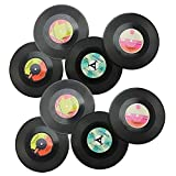 COM-FOUR® 8er Set Vinyluntersetzer