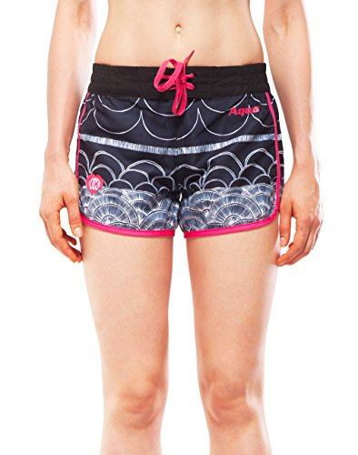 Aqua Marina ILLUSION Damen Boardshort Shorts Badehose S… | 06954521623597