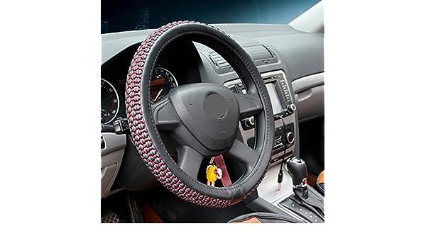 SZMYLED Coprivolante universale elastico in seta di ghiaccio per auto da 15 pollici