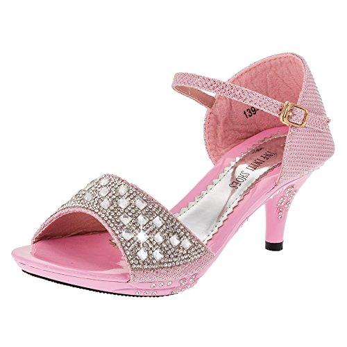 Infiniti Shoes - Pantofole a Stivaletto Bambina #167rs Rosa