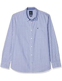 Crew Clothing Herren Freizeithemd Whitemore Classic Stripe Shirt