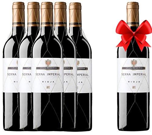 Rioja Serna Imperial Gran Reserva 2004 (pack 5 Botellas + 1 Gratis)