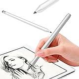 Kapazitiver Schreibkopf-Touch Screen Zeichnungs-Stift für iPhone iPad Tablette-Handy-Touch Screen Schreibkopf-Feder-Bleistift-Mode-Präzisions-Silber für Tablette PC Smartphone-Telefon Universal