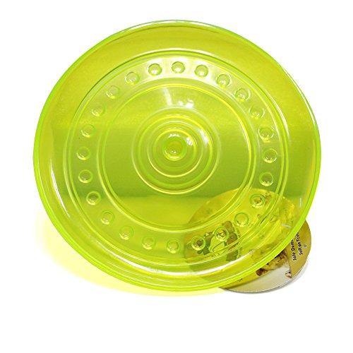 Robust Hunde Frisbee Spielzeug für Semi Aggressive Kauer; widerstandsfähig, nahe unzerstörbar 22,9cm Interaktive Spielzeuge für Hunde für kleine, mittelgroße und große Hunde. Best Floating thermoplastischem Gummi (TPR) Flying Disc
