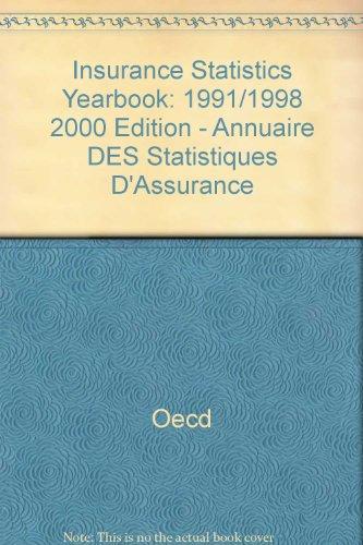 Annuaire des statistiques d'assurances. Edition 2000