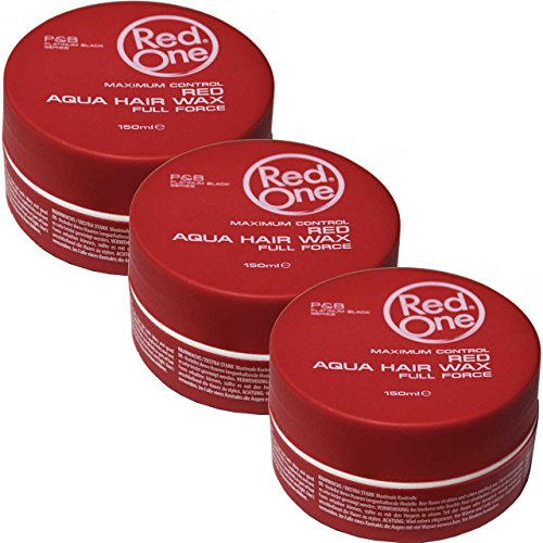 RedOne Red Aqua Wax Full Force 3 x 150ml