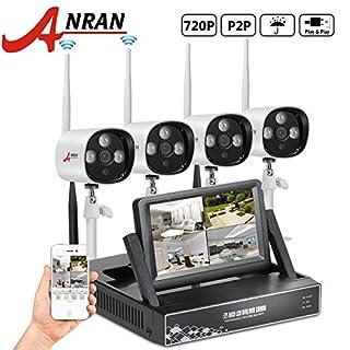 ANRAN Überwachungssystem CCTV Videoüberwachung 4CH 720P 7