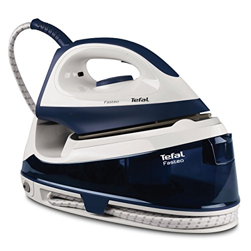 Tefal fasteo sv6035 2200w 1.2l ceramic soleplate black,white steam ironing station - steam ironing stations (2200 w, 5.2 bar, 1.2 l, 200 g/min, 100 g/min, ceramic soleplate)