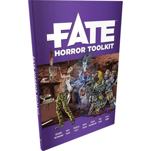EHP0039 Fate Horror Toolkit Supp, Mehrfarbig ()