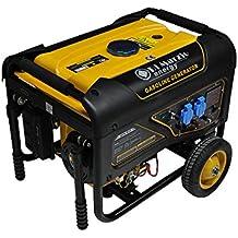 Generador eléctrico 3 KW - Gasolina - Grupo electrógeno - Arranque eléctrico ...