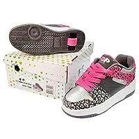 Heelys Kids POP Push Button Roller Skate Shoes POP Trainers 771067P