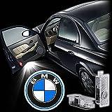 Inalámbrico LED proyector luz de puerta Luz de bienvenida para BMW (2unidades)