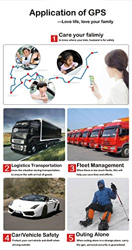 TKSTAR GPS Tracker Auto tkmars GPS Tracker mit Starker Magnet 3Monate Sleep in Echtzeit GPS/GPRS/GSM Tracker Diebstahlsicherung für Fahrzeug Autos Motorrad LKW Tracker GPS Tracker Ortungsgerät