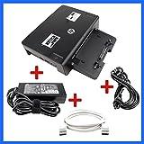 HP Docking HSTNN-I10X + HP 120W NT + DP-Kabel für Elitebook 8440p 8460p 8540p