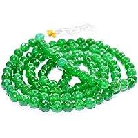 Mala - Green Aventurine Diamond Cut Gemstone Bead 8 mm Chakra Balancing Reiki Healing Stone preisvergleich bei billige-tabletten.eu