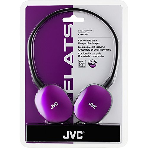 JVC HA-S160 Wired Headphone (Violet)