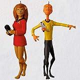 2018Diego Comic-Con Hallmark Star Trek Arex et M 'RESS Exclusive Ornement